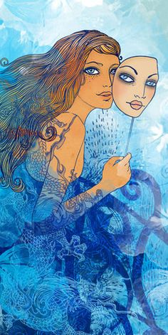 Horoscope for MINI Magazine by Varvara Gorbash, via Behance, Varvara Gorbash Gemini Zodiac Artwork