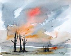 Serenity of Winter Lilac Flowers, Red Roses, Bird Artists, Irish Landscape, Irish Art, Connemara, Summer Glow, Watercolours, Flower Vases