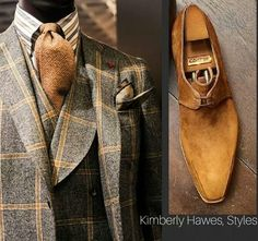 Isaia Suits & Corthay Footwear