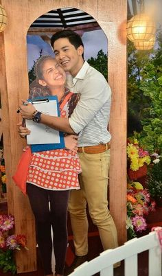 this yaya standee is AlDub Eat Bulaga, Most Popular Tv Shows, Maine Mendoza, Alden Richards, Fantastic Baby, Smiles And Laughs, My Beauty, Filipino, Make You Smile