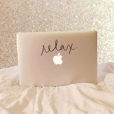 Relax Laptop Decal - Vinyl Decal - Laptop Decal - Car Decal - iPad Decal - Quote Decal - Relax Decal - Relax - No Stress - Calm