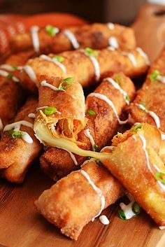 Buffalo Chicken Mozzarella Rolls | 23 Mouthwatering Buffalo Chicken Recipes
