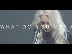 WHAT DO YOU MEAN - JUSTIN BIEBER - COVER BY MACY KATESong Cover http://ift.tt/2vhE8ss