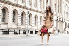The Nude Edition :: Spring booties & Oversized trench