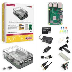 Shop CanaKit Raspberry Pi 3 Model B+ Ultimate Kit Clear at Best Buy. Find low everyday prices and buy online for delivery or in-store pick-up. Diy Electronics, Electronics Projects, Simple Electronic Circuits, Micro Computer, Computer Repair, Systems Engineering, Pi Projects, Learn To Code, Best Buy Store