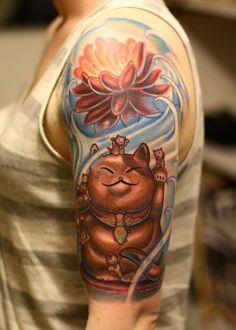 Cute Japanese Tattoo - http://99tattooideas.com/cute-japanese-tattoo/ #tattoo #tattoos #ink