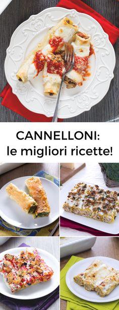 Cannelloni: tutte le ricette più buone da provare subito. Dalla versione più classica e quella agli spinaci!   [Easy italian baked cannelloni recipes]