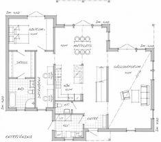 Sävsjö Trähus Torekov Dream Homes, Rum, Floor Plans, Exterior, Flooring, How To Plan, Inspiration, Biblical Inspiration, Dream Houses
