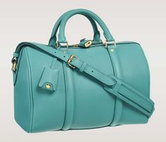 Louis Vuitton Spring 2012 Sophia Coppola Bag PM {in an absolutely amazing shade of turquoise!}  <3