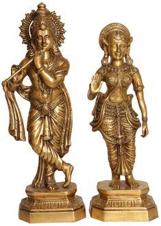 Radha Krishna // 24.7in $755