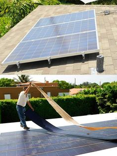 Hurricane Resistant Solar Panels