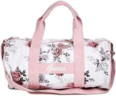 Amazon.com: Guess Women's Floral Duffle Bag Handbag: Shoes Duffel Bags, Tote Bag, Duffle Bag Patterns, Weekend Bags, Backpack For Teens, Accesorios Casual, Backpack Purse, Suitcases, Weekender