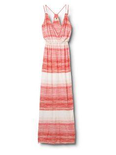 QSW Heat Wave Stripe Maxi Dress