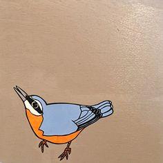 "Nuthatch by Dylan Metrano Papercutting Woodblock Original Art 8""x8"" Paula Estey Gallery http://www.amazon.com/dp/B0189PK9QW/ref=cm_sw_r_pi_dp_BS-Jwb0HM1K14"