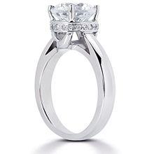 Solitaire Engagement Ring: Gold Platinum Diamond Ring ,engagement rings,diamond engagement rings