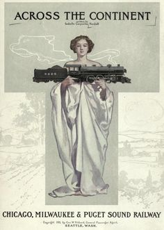 TRAIN TRAVEL: She appears trustworthy with the train.
