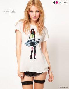 #fashion #neronera #tshirt #woman http://www.neronera.com/info/graphic-design/store/tu-mi-fai-girar