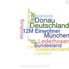 Welches Bundesland suchen wir? Lösung: http://schlagwort-quiz.de/raetsel/121