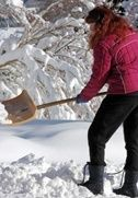 Tips for Snow Shoveling: How to Avoid Back Pain   Keep your back safe this winter with our tips for preventing back pain while shoveling snow. Article covers the best type of shovel, what you should wear, and what you should do before heading out in the winter wonderland.