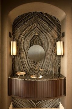 Private Estate Home-Naples Florida - transitional - powder room - other metro - Renée Gaddis Interiors