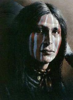 Robert Osterloh, original Native American Painting.