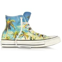 a5cd9fefd666d Converse Limited Edition Chuck Taylor All Star Hi-Ox Graphic Tropical Print  Sneaker