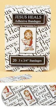 Jesus Heals Inspirational Bandages