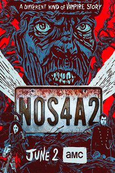 Best selling Horror Novel + Stephen King's Son ( Joe Hill) = Scariest AMC Series . Will you be watching. Zachary Quinto, Manx, Tv Series Tracker, Nos4a2, Vampire Stories, Horror Fiction, Streaming Hd, Occult, Soundtrack