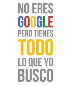google amor frases