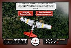 Tuskegee Flight Leader Missions Interactive Game from the Smithsonian Air and Space Museum