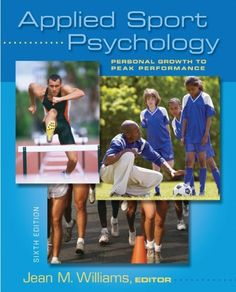 Applied Sport Psychology: Personal Growth to « Library User Group