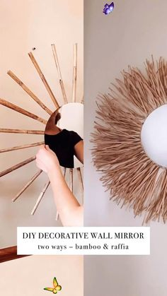 Amazing diy #Diycrafts #Diyhacks #Diyprojects #Diyhomedecor #Diyclothes<br> Diy Crafts For Home Decor, Diy Crafts Hacks, Diy Crafts To Sell, Diy Room Decor Videos, Wall Decor Crafts, Diys, Decor Diy, Diy Home Decor On A Budget, Sell Diy
