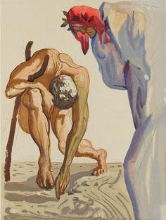 Inferno de Salvador Dali