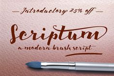 Scriptum Family by Eurotypo on @creativemarket