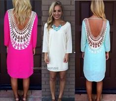 I found some amazing stuff, open it to learn more! Don't wait:https://m.dhgate.com/product/fashion-new-sexy-women-7-colors-casual-dress/248590652.html