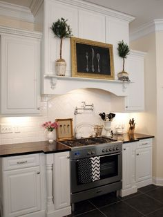 Want a water tap behind my stove top ... please?
