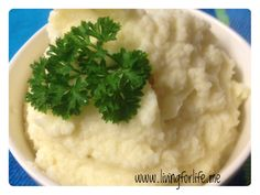 Cauliflower mash using the Thermomix
