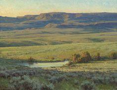 Clyde Aspevig Revitilization - Landscape Prairie Painting