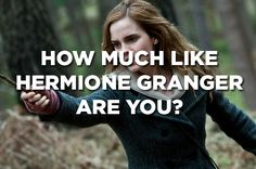 How Similar Are You To Hermione Granger