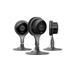 Home security has never looked so good. The Nest Cam Indoor is the perfect addition to any home. The Nest Cam Indoor is beautifully designed and it plugs into p Security Surveillance, Security Alarm, Safety And Security, Surveillance System, Video Security, Camera Surveillance, Security Tips, Security Service, Security Products