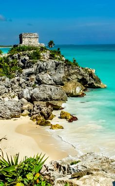 God of Winds Temple, Tulum, Mexico