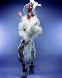 Yasmine Warsame by Steven Meisel, Italian Vogue 2003