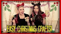 Previous Video – Hazel's Channel (Go SUB!) – Vlogmas 2014 – Big big thank you … Festive Crafts, Easy Christmas Crafts, Simple Christmas, Fun Crafts, Sprinkle Of Glitter, Two Daughters, Two Girls, Mobile Marketing, Work On Yourself