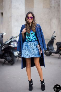 Paris Fashion Week FW 2014 Street Style: Aimee Song » STYLE DU MONDE | Street Style Street Fashion Photos