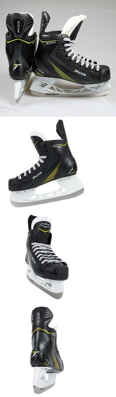 Youth 26344: New $90 Ccm Tacks 2052 Jr. Ice Hockey Skates For Kids/Boys/Youth BUY IT NOW ONLY: $49.94