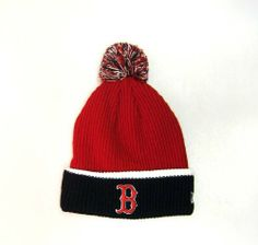 Boston Red Sox Red and Blue Folded Knit Beanie Hat New Era. $19.99