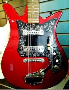 Vintage Teisco Tulip Guitar - $245