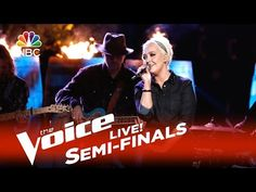 """This was an Awesome performance by Meghan ! The Voice 2015 Meghan Linsey - Semifinals: """"Tennessee Whiskey"""" - YouTube"""