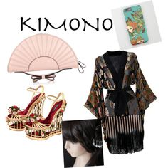 Designer Clothes, Shoes & Bags for Women Valentino Clothing, Kimono Dress, Agent Provocateur, Polyvore Fashion, Red, Stuff To Buy, Shopping, Collection, Dresses