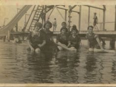 Rose's Bathing Beach and Swimming School on Reed's Lake - c. 1901